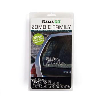 Imagen de Stickers Zombie Family