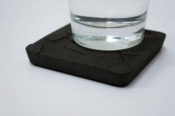 Imagen de Posavasos de concreto Negro