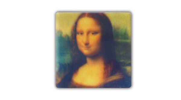 Imagen de Posavasos Mona Lisa CMYK (set de 4)