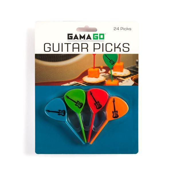 Imagen de Pinchos para Copetín Guitar Picks