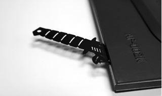 """Imagen de Marcador de Libros """"Armed"""" Cuchillo"""