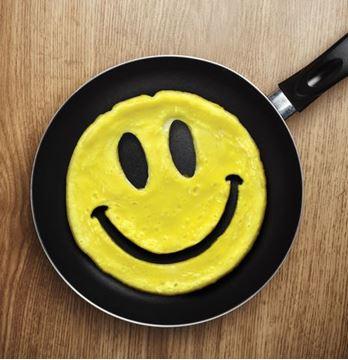 "Imagen de Molde para Panqueques ""Crack a Smile"""