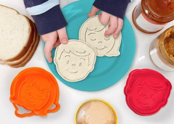 "Imagen de Sellos para tostadas ""Bread Head"""