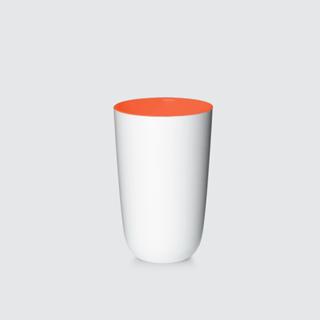 Imagen de Vaso Pantone Blanco Naranja