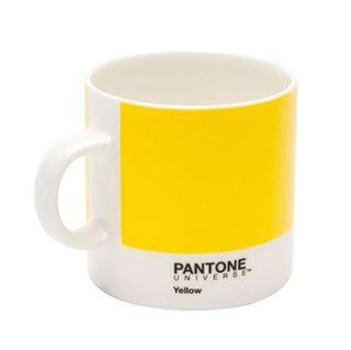 Imagen de Taza Pantone Espresso Yellow