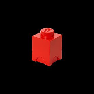 Imagen de Lego Storage Brick 1 Rojo