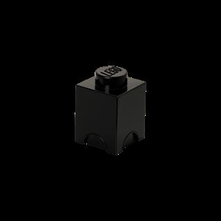 Imagen de Lego Storage Brick 1 Negro