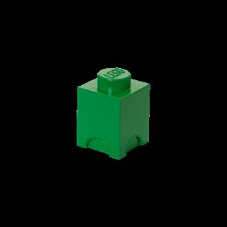 Imagen de Lego Storage Brick 1 Verde Oscuro