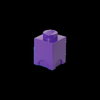 Imagen de Lego Storage Brick 1 Friends Violeta