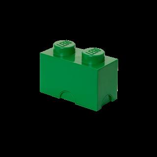 Imagen de Lego Storage Brick 2 Verde Oscuro
