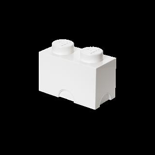 Imagen de Lego Storage Brick 2 Blanco