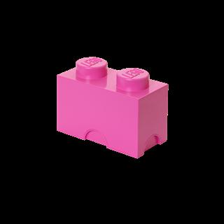 Imagen de Lego Storage Brick 2 Rosado