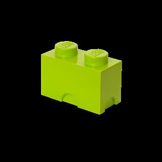 Imagen de Lego Storage Brick 2 Verde Lima