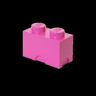 Imagen de Lego Storage Brick 2 Friends Rosado