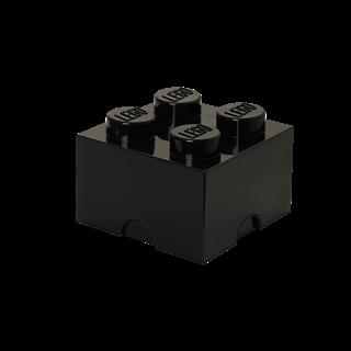 Imagen de Lego Storage Brick 4 Negro