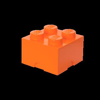 Imagen de Lego Storage Brick 4 Naranja