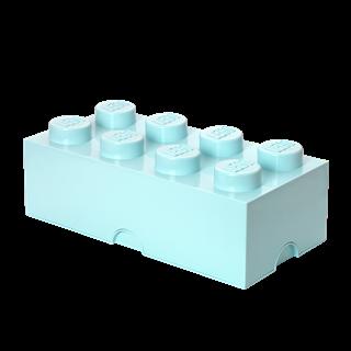 Imagen de Lego Storage Brick 8 Celeste