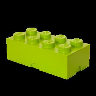 Imagen de Lego Storage Brick 8 Verde Lima