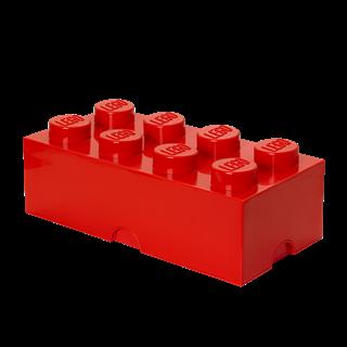 Imagen de Lego Storage Brick 8 Rojo