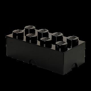 Imagen de Lego Storage Brick 8 Negro
