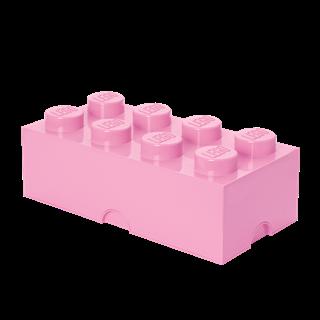 Imagen de Lego Storage Brick 8 Rosado