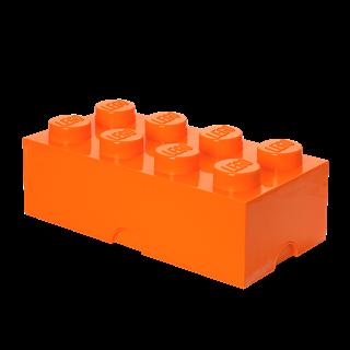 Imagen de Lego Storage Brick 8 Naranja