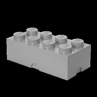 Imagen de Lego Storage Brick 8 Gris