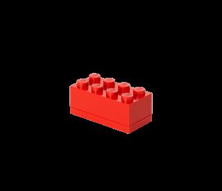 Imagen de Lego Mini Box 8 Rojo