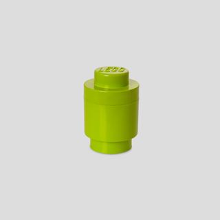 Imagen de Lego Storage Brick 1 Redondo Verde Lima