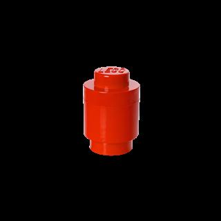 Imagen de Lego Storage Brick 1 Redondo Rojo