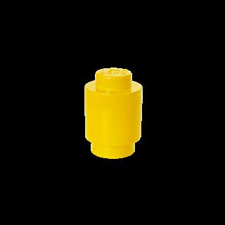 Imagen de Lego Storage Brick 1 Redondo Amarillo