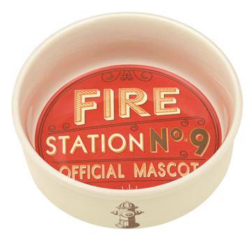 """Imagen de Bowl Gato o Perro """"Fire Station Nº 9"""""""