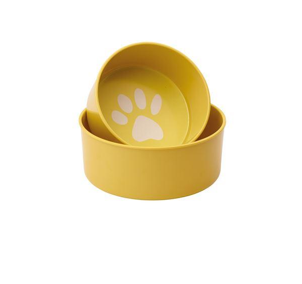 "Imagen de Set Bowls para perro ""Pop!"" (Amarillo)"
