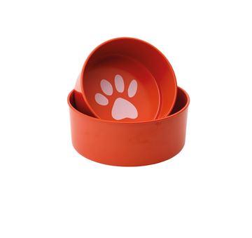 """Imagen de Set Bowls para perro """"Pop!"""" (Rojo)"""