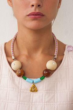 """Imagen de Collar """"Wood Buda"""""""